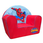 Fauteuil Club en mousse Spiderman Rouge