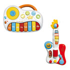 Lot Baby piano et guitare