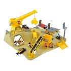 Chantier de construction avec un véhicule