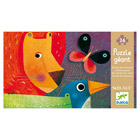 Puzzle géant 36 pièces parade des animaux