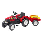 Tracteur Farm et sa remorque