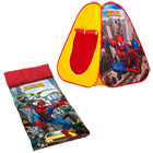 Combo tente pop-up Spiderman + sac de couchage