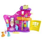 Salon de beauté multicolore Polly Pocket
