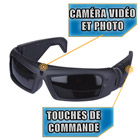 Spy net lunettes video espion