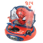 Radio réveil projecteur Spiderman