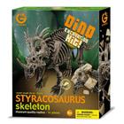 Dino kit excavation styracosaure 26 cm