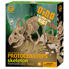 Geoworld- Protoceratops 23 cm kit paléontologue