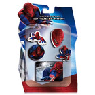 Set 4 tampons + encrier Spiderman