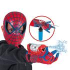 Spiderman masque + lance fluide et eau de luxe