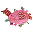 Doudou cochon rose