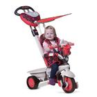 tricycle en m tal zooky rouge et gris smoby king jouet. Black Bedroom Furniture Sets. Home Design Ideas