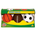 Set de 3 ballons gonflables