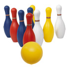 Set bowling 10 quilles