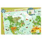 Puzzle observation monuments du Monde
