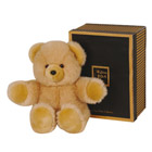Peluche Ours Miel Collection Prestige 30 cm