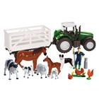 Tracteur et animaux