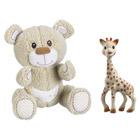 Set Gabin l'Ours et Sophie la Girafe