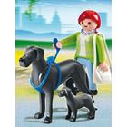 5210-Dogue Allemand et son petit - Playmobil