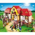 5221-Haras avec chevaux et enclos