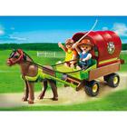 5228-Enfants et chariot