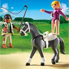 5229-Dresseur de chevaux et voltigeuse