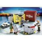 5259-Ouvriers avec marchandises - Playmobil