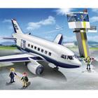 5261-Avion et tour de contrôle