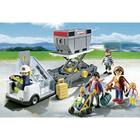 5262-Passerelle d'embarquement avec passagers - Playmobil
