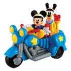La Moto de police de Mickey