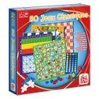 Coffret 50 jeux classique zig zag jeux action