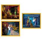 Puzzles 3 x 50 pièces Scoubidou