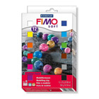 Coffret 12 demi pains Fimo