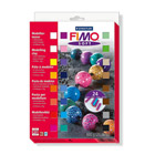 Coffret 24 demi pains Fimo