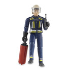 Pompier avec accessoires