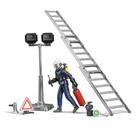 Figurine Pompier et accessoires