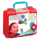 Bristle Blocks Valisette 85 pièces