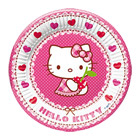 Assiettes Hello Kitty