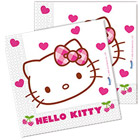 Serviettes Hello Kitty