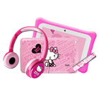 Pack tablette Hello Kitty + stylet et casque audio