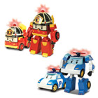 Véhicule Robocar Poli transformable lumineux Assortiment