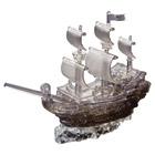 Puzzle 3D Crystal Bâteau Pirates Noir