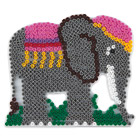 Plaque pour perles à repasser éléphant
