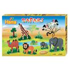 Coffret perles à repasser animaux safari