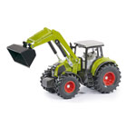 Tracteur Claas Axion 850 avec chargeur frontal