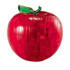 Crystal puzzle 3D-pomme rouge 44 pièces