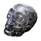 Crystal puzzle 3D-crâne noir