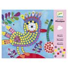 Mosaiques oiseau et coccinelle