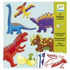 Pantins à colorier dinosaures