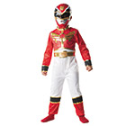 Panoplie classique Power Rangers Rouge Taille S