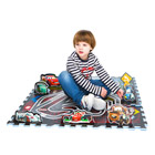 Tapis Puzzle 9 dalles Cars
